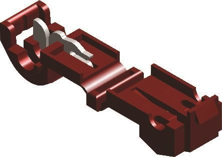 NYLON KLIK-IN CONNECTOR ROOD 951 (20 ST)