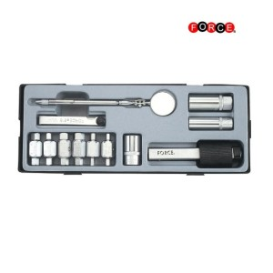 FORCE Tooltray Olie & bougie service set 12-delig