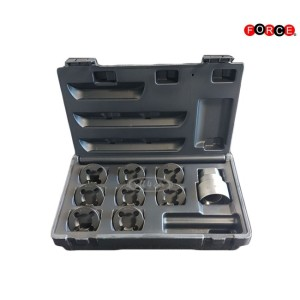 Axle spindle rethreading set