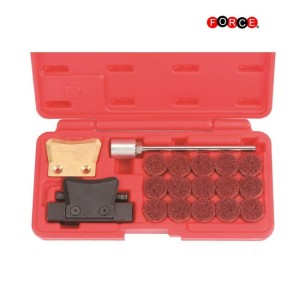 FORCE Oliepan reinig set